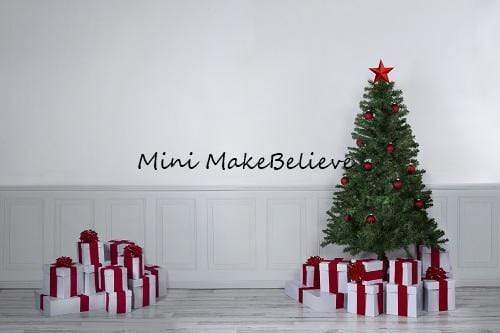 Kate Christmas Gifts White Room Backdrop Designed by Mini MakeBelieve