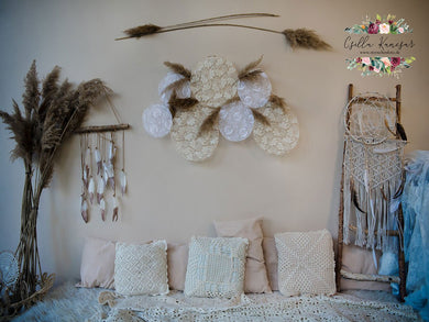 Kate Boho Indoor Backdrop Designed by Csilla Kancsar