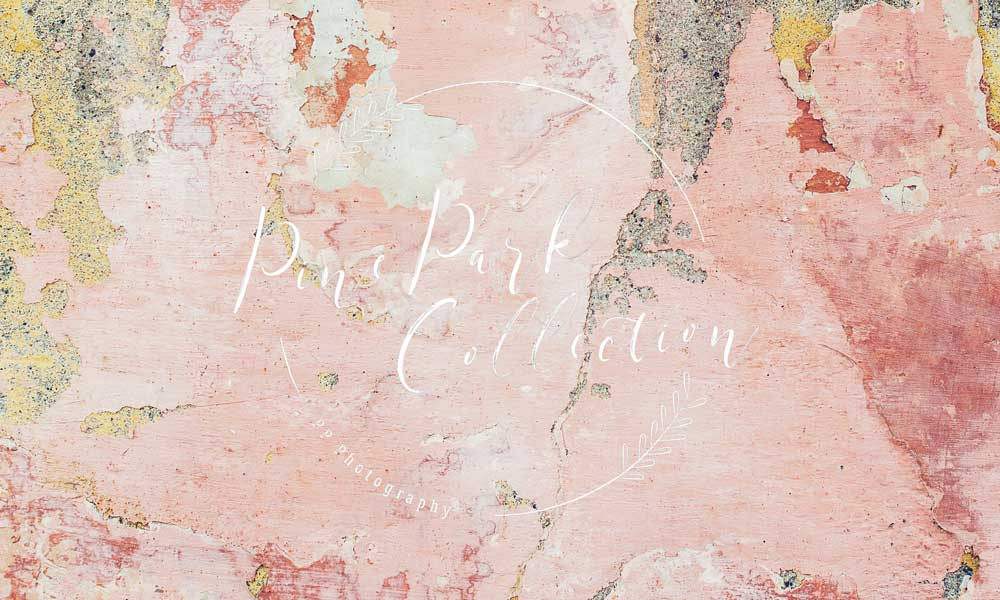 Kate Pink Stucco Wall Backdrop Designed By Pine Park Collection