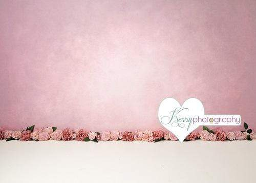 Kate Pink Floral for Children Backdrop for Photography Designed by Kerry Anderson