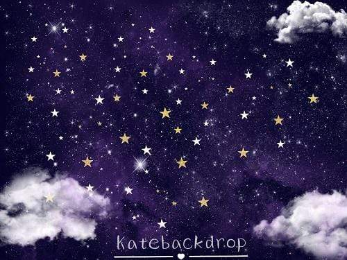 Kate Starry Night Backdrop for Photography Designed by JFCC