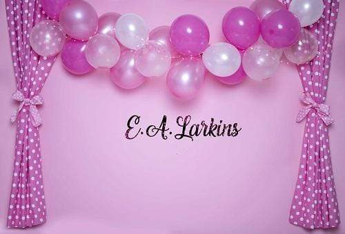 Kate Pink Curtains with Balloons Backdrop for Photography Designed By Erin Larkins