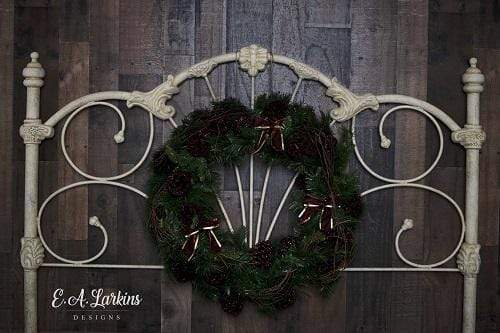 Kate Christmas Headboard Wreath Backdrop Designed By Erin Larkins
