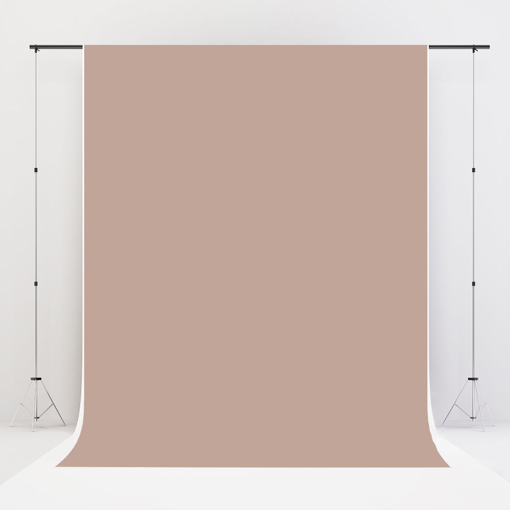 Kate Khaki Fabric Cloth Backdrop Solid Backdrop Mocha Background