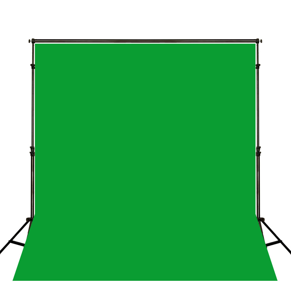Kate Hunter Green Solid Cloth Photography Fabric Backdrop