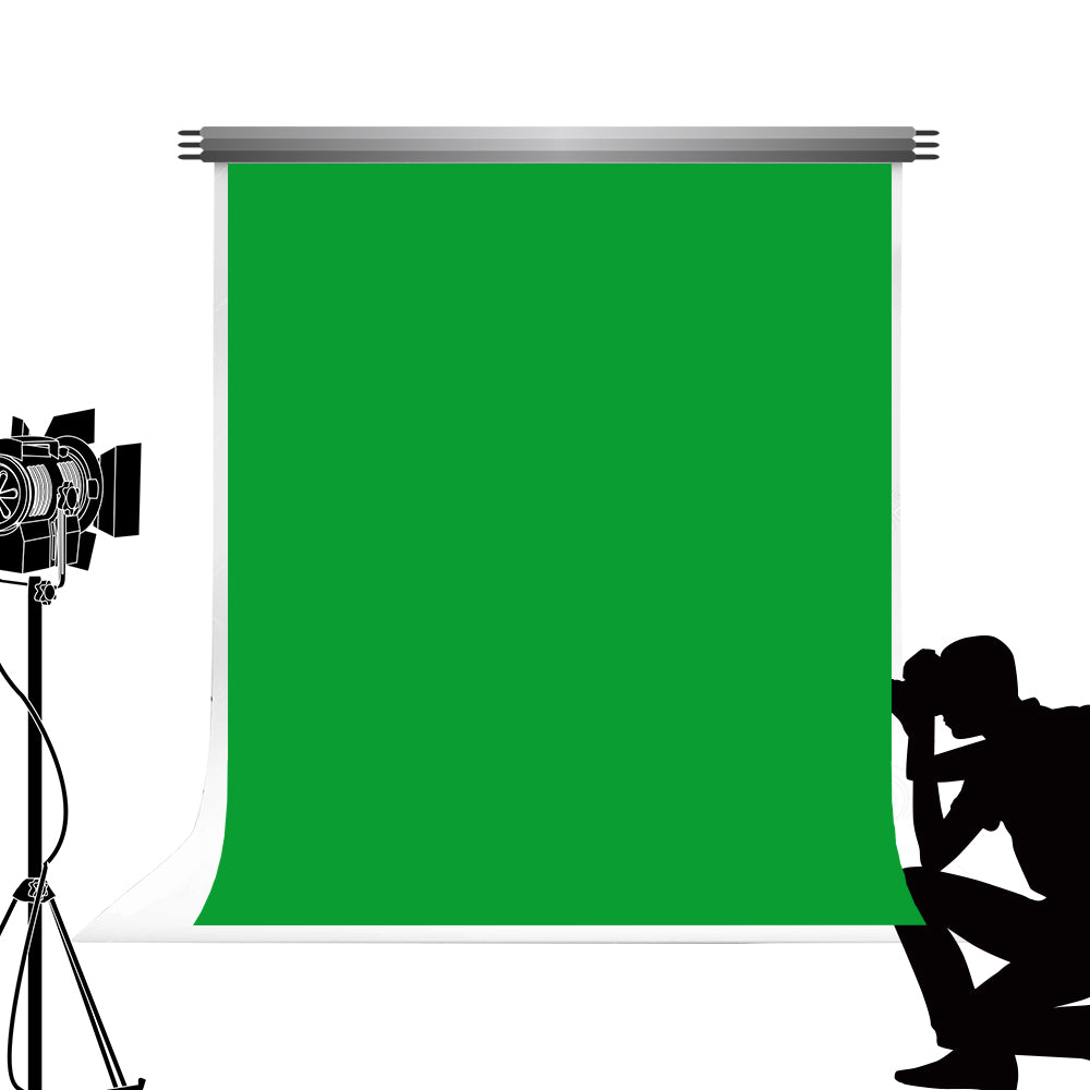 Load image into Gallery viewer, Kate Hunter Green Solid Cloth Photography Fabric Backdrop