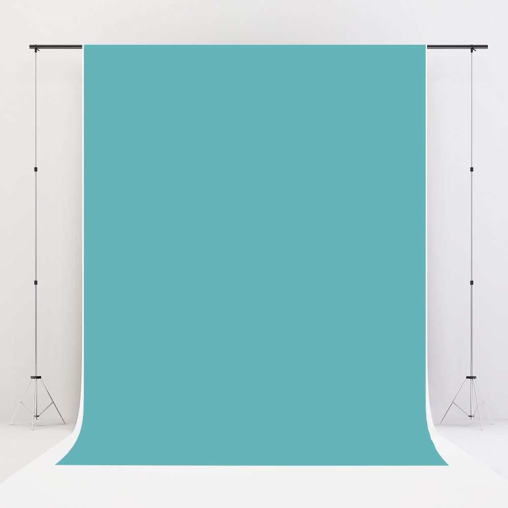 Kate Turquoise Solid Cloth Photography Backdrop Portrait