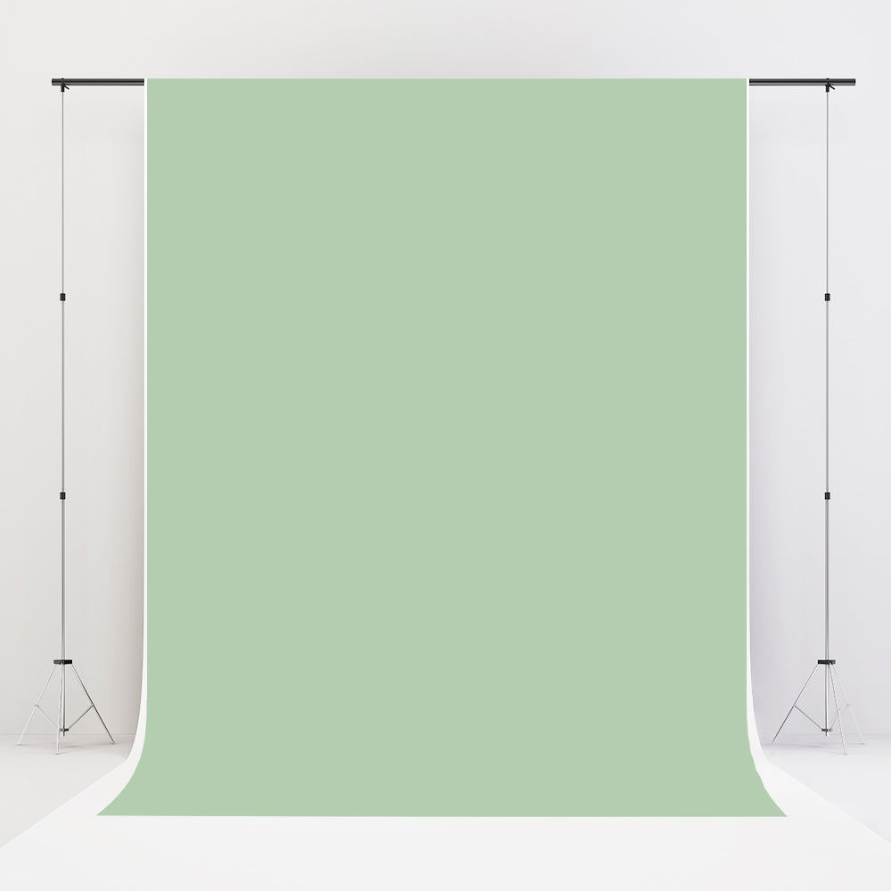 Kate Sage Green Solid Cloth Photography Backdrop Portrait Photographer