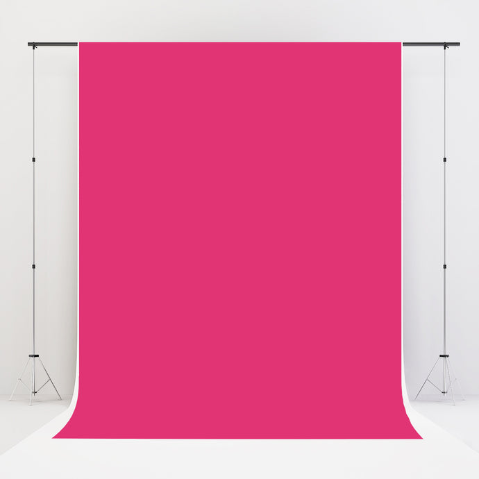 Kate Fuchsia Pink Solid Cloth Photography Backdrop
