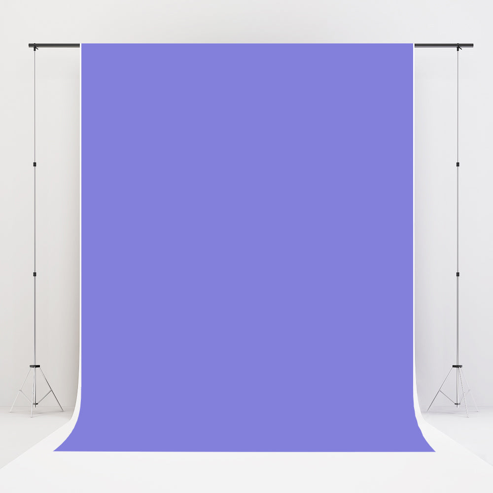 Kate Periwinkle Solid Cloth Photography Fabric Backdrop