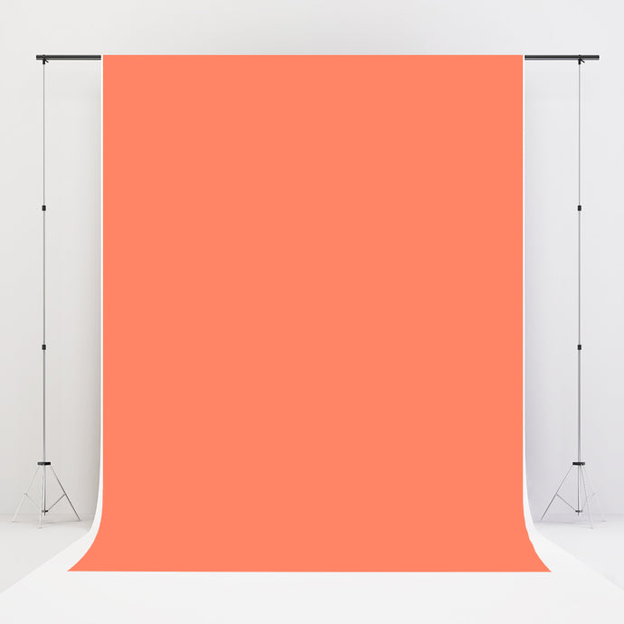 Kate Coral Solid Cloth Photography Fabric Backdrop