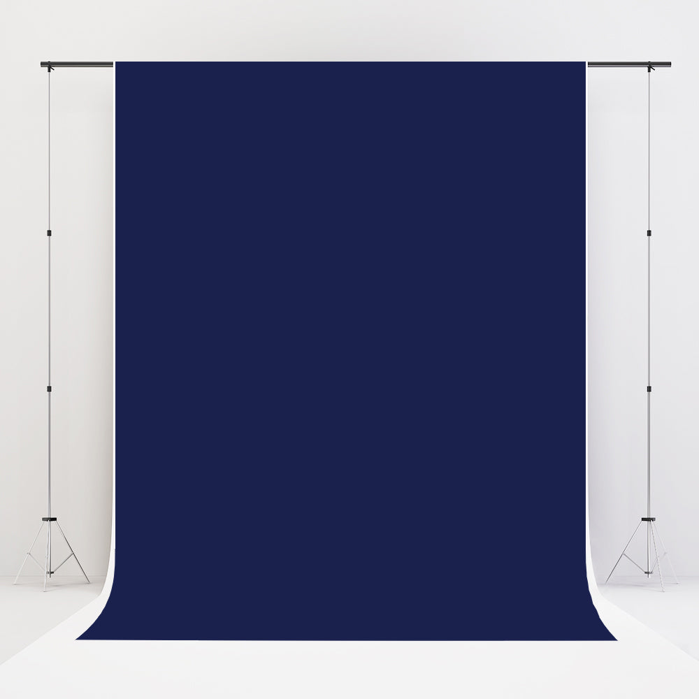 Kate Navy Solid Cloth Photography Fabric Backdrop