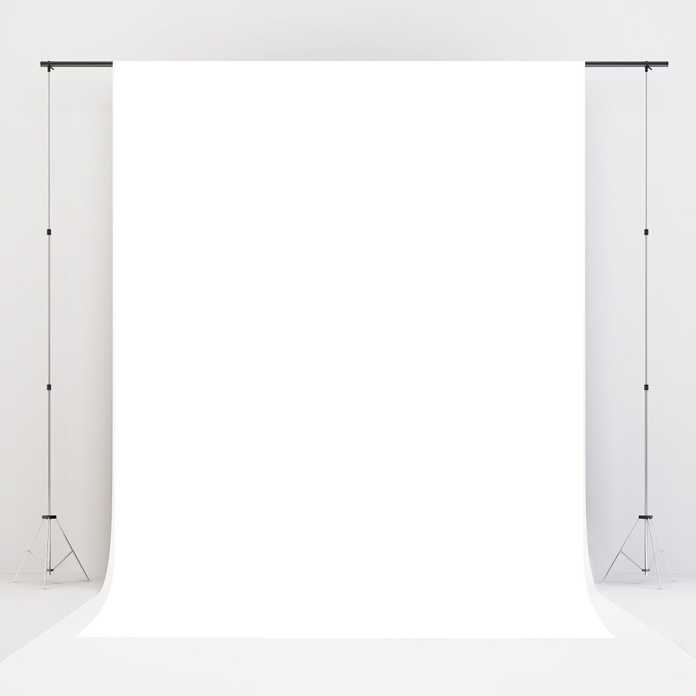 Load image into Gallery viewer, Kate RTS Solid White Cloth Backdrop Portrait Photography