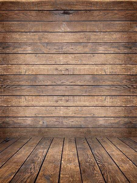 Katebackdrop£ºKate Retro Dark Wood Background with Wood flooring Backdrop for Photography