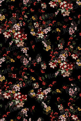 Kate Abstract Dark Floral Fine Art Backdrop for Photography