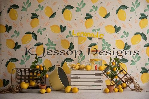 Kate Summer Backdrop Lemonade Designed by Keerstan Jessop