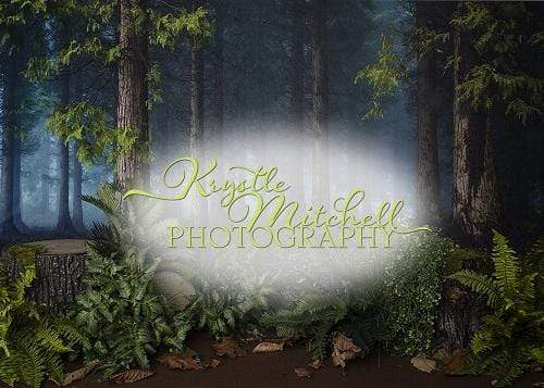 Kate Woodland Forest Backdrop Designed By Krystle Mitchell Photography