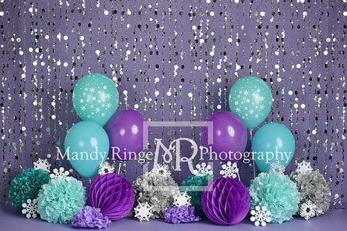 Kate Winter Onederland Purple Backdrop Designed By Mandy Ringe Photography