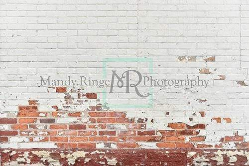 Kate Shabby White and Red Brick Backdrop Designed By Mandy Ringe Photography