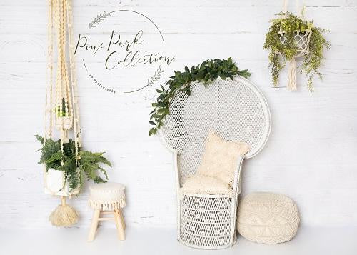 Kate Summer Backdrop White Cream Boho Designed By Pine Park Collection