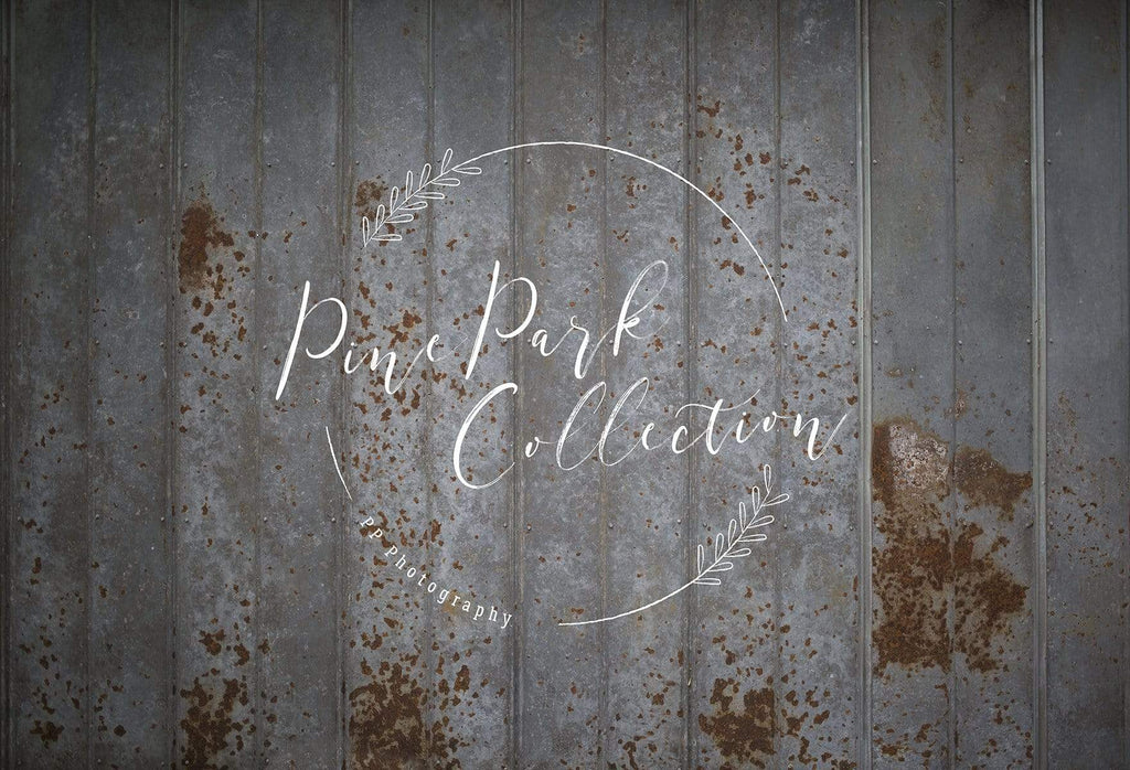 Kate Rusted Tin Wall Backdrop for Photography Designed by Pine Park Collection