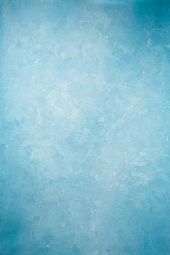 Kate Abstract Skyblue Textured Hand Painted Backdrops Canvas