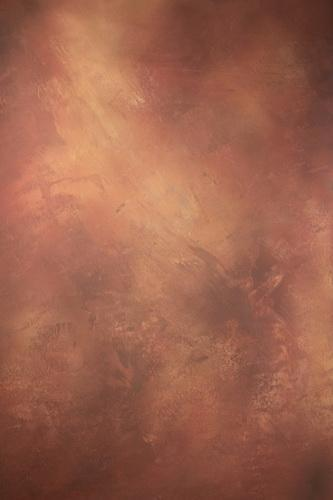 Kate Abstract Red Brown Textured Hand Painted Backdrops Canvas