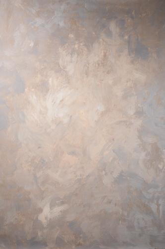 Kate Abstract Brown Strong Textured Hand Painted Backdrops Canvas