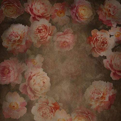 Kate Fine Art Retro Flowers Backdrop Designed By JS Photography