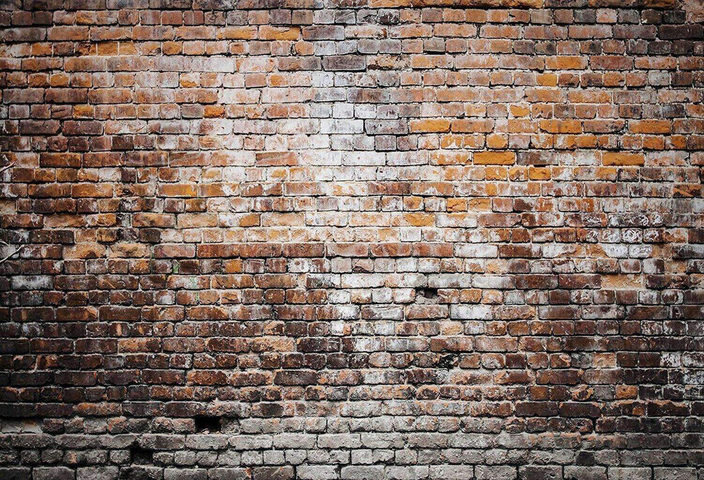 Katebackdrop£ºKate Dark Retro Brick Wall Background for photos