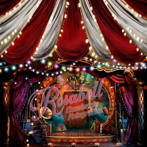 Kate Circus Backdrop Designed by Rosabell Photography