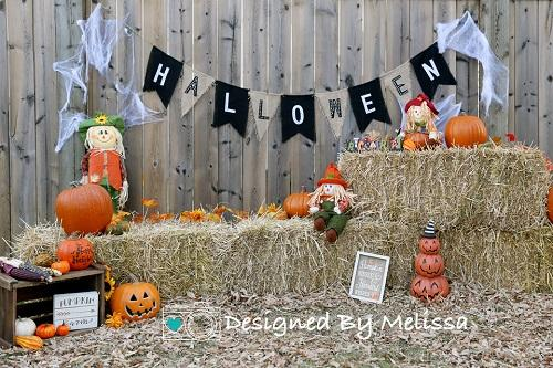Kate Halloween Day Backdrop Designed by Melissa King