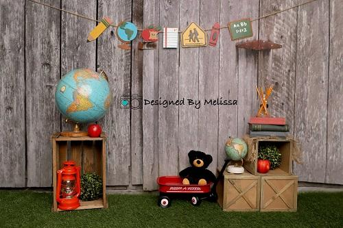 Kate Back to School Backdrop Outdoor Designed by Melissa King