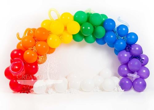 Kate Rainbow Arch Backdrop Designed by Chrissie Green
