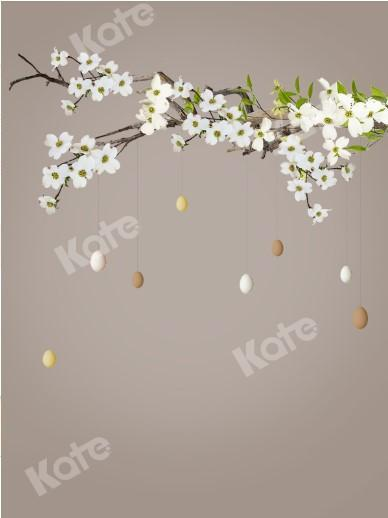 Kate Branch Flowers With Eggs Backdrops Designed by Jerry_Sina