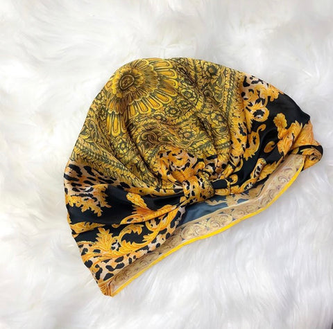 Printed Turban Hat