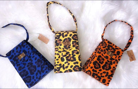 Cheetah Girl Mini Clutch
