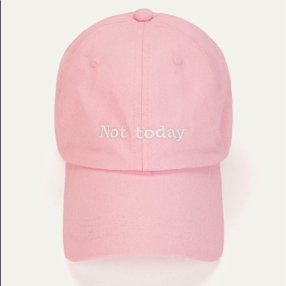 Not Today Fitted Hat