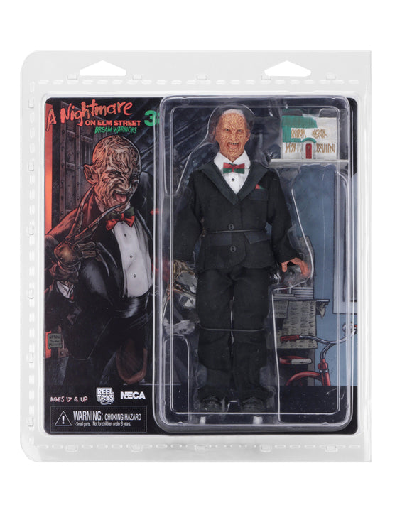 "NECA 14956 Nightmare on Elm Street - 8"" Clothed Figure - Tuxedo Freddy"
