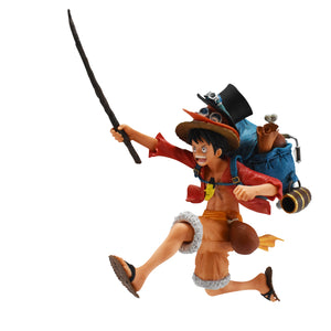BANPRESTO 16139 One Piece Three Brothers Monkey D. Luffy Figure