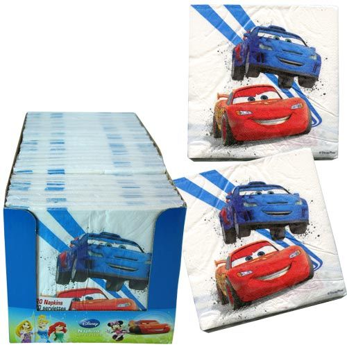 Cars Napkins 20ct