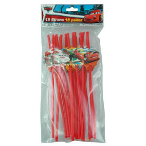 Cars Straws 18-pack