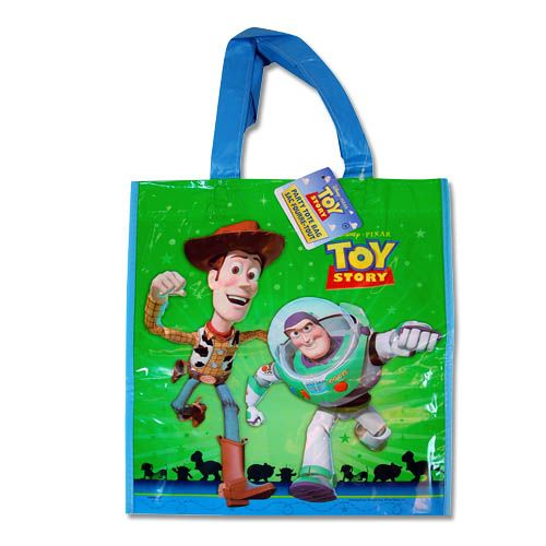 Toy Story Plastic Tote Bag 12-pack