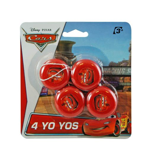 Cars Mini Yo-Yos 4-pack