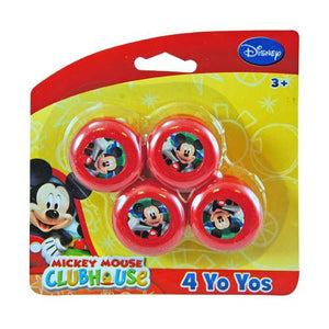 Mickey Mouse Mini Yo-Yos 4-pack