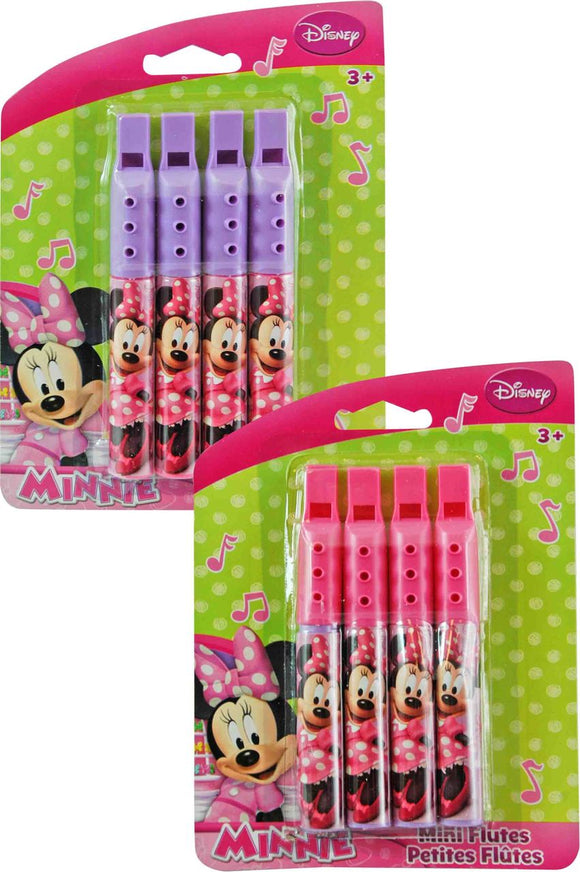 Minnie Mouse Mini Flutes 4-pack