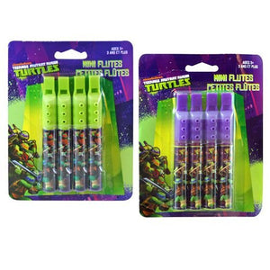 Teenage Mutant Ninja Turtles Mini Flutes 4-pack