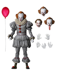"NECA 45454 IT Chapter 2 - 7"" Scale Action Figure - Ultimate Pennywise (2019)"