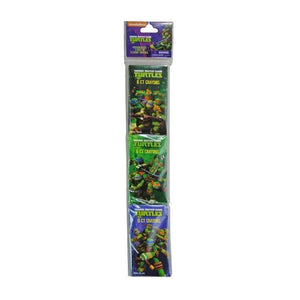 Teenage Mutant Ninja Turtles Crayons 3-pack x 6ct