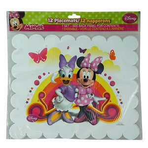 Minnie Paper Placemats 12ct